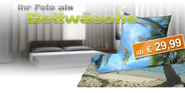 Fotobettwäsche Foto Auf Bettwäsche Drucken Preisvergleich
